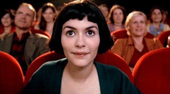 At the movies (from the movie Amélie)